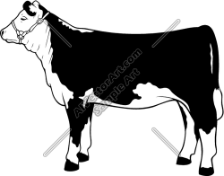 Cattle clipart hereford cow