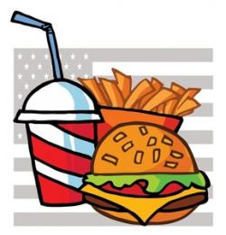 Burger clipart burger and fry