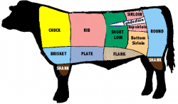 Steak clipart cow meat