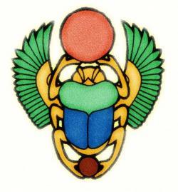 Egyptian clipart scarab beetle
