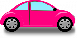 Beatle clipart pink