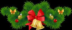 Christmas Lights clipart pine garland