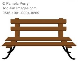 Park Bence clipart garden bench