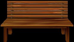 Wood clipart school bench