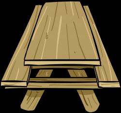 Picnic Table clipart june