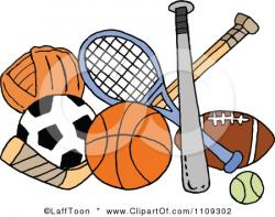 Sport clipart sport collage