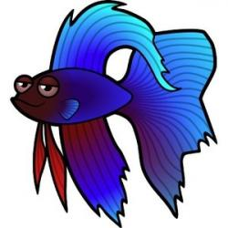 Betta clipart