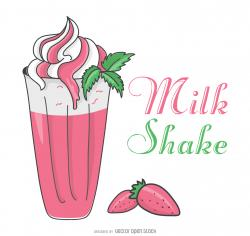 Drawn milkshake