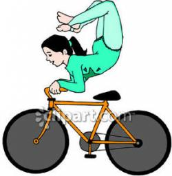 Circus clipart bicycle