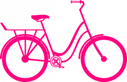 Colouful clipart bicycle