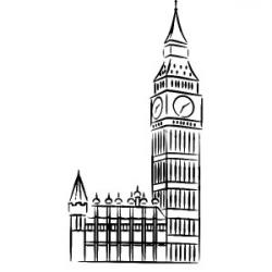 Drawn big ben