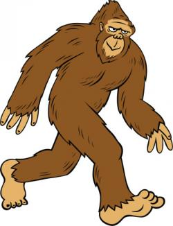Bigfoot clipart sasquatch