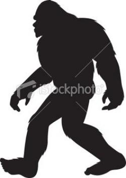 Bigfoot clipart kid