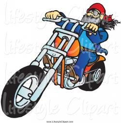 Chopper clipart motorcycle rider