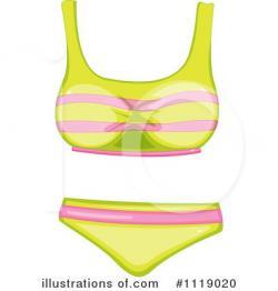 Bikini clipart illustration