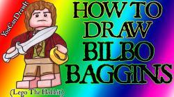 Bilbo Baggins clipart lego figure