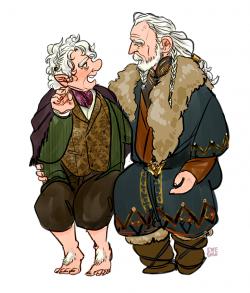 Bilbo Baggins clipart old