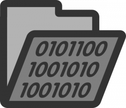 Binary clipart