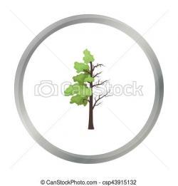 Bio clipart leafy tree
