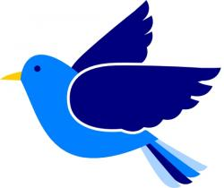 Bluebird clipart simple bird