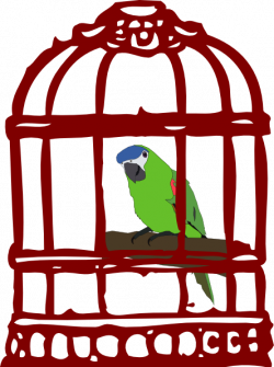 Cage clipart cartoon