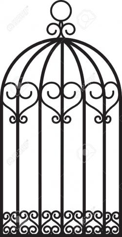Cage clipart free bird