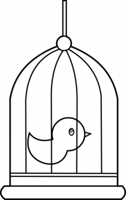 Canary clipart caged bird