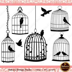 Birdcage clipart cage