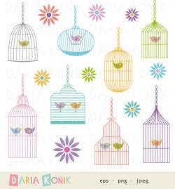 Cage clipart cute