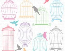 Cage clipart wedding birdcage