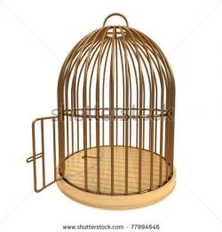 Cage clipart open