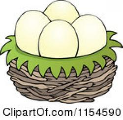 Bird's Nest clipart dinosaur nest