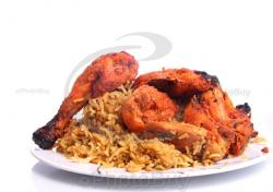 Biryani clipart chicken rice
