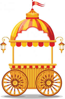 Biryani clipart street food cart