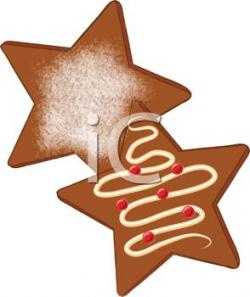Gingerbread clipart snowflake