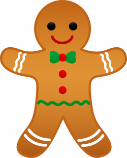 Ginger clipart christmas