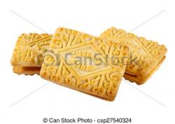 Biscuit clipart custard cream