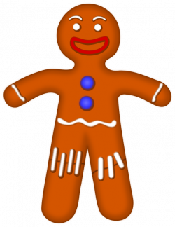 Gingerbread clipart gingerbread man