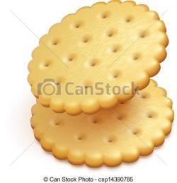 Biscuit clipart snack