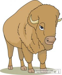 Bison clipart animated