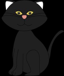 Tuxedo Cat clipart cute