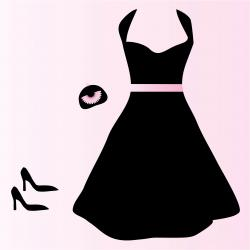 Dress clipart vector art