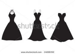 Wedding Dress clipart formal dress