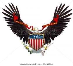 Eagle clipart spread wing