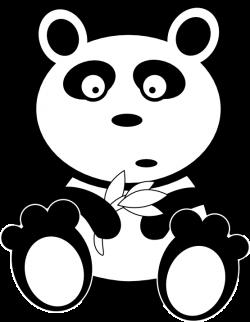 Herbivorous clipart panda bear