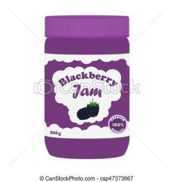 Jellie clipart blackberry jam
