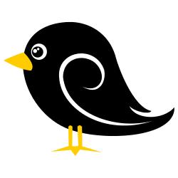 Blackbird clipart