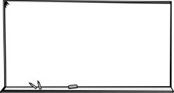 Notice clipart blackboard