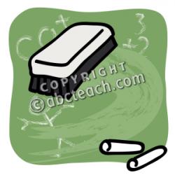 Blackboard clipart whiteboard eraser