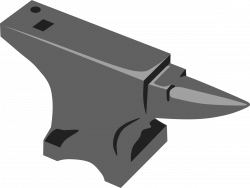 Anvil clipart colonial